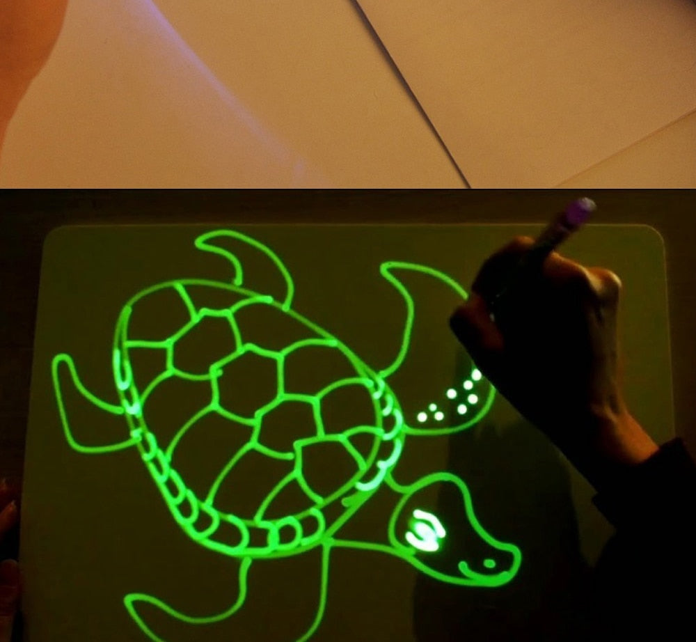 Magic Drawing Board And Magic Pen For Children Baby