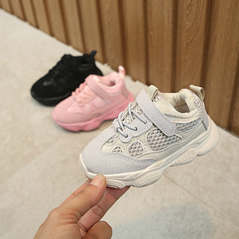 Sneakers Kids Breathable Baby Girls Boys