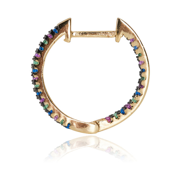 Small Rainbow Hoops