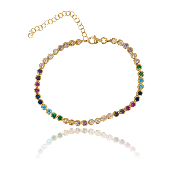 Round Multi-Colored Bracelet