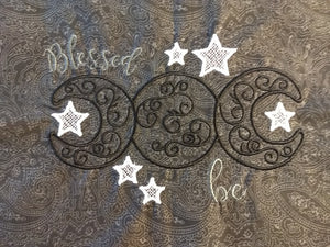 Blessed Be Ornate Moon