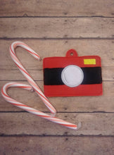 Load image into Gallery viewer, Santa Camera Ornament