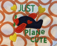 Load image into Gallery viewer, Just Plane Cute Applique