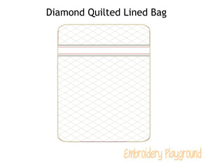 Diamond Quilted Bag