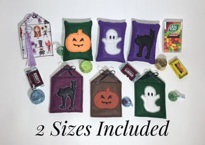 Halloween Treat Pouch Set