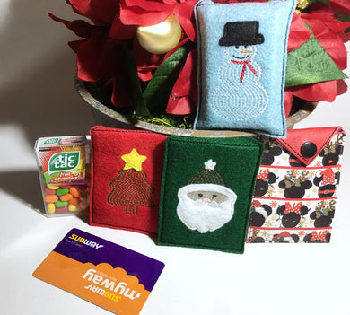Christmas Treat Pouch Set