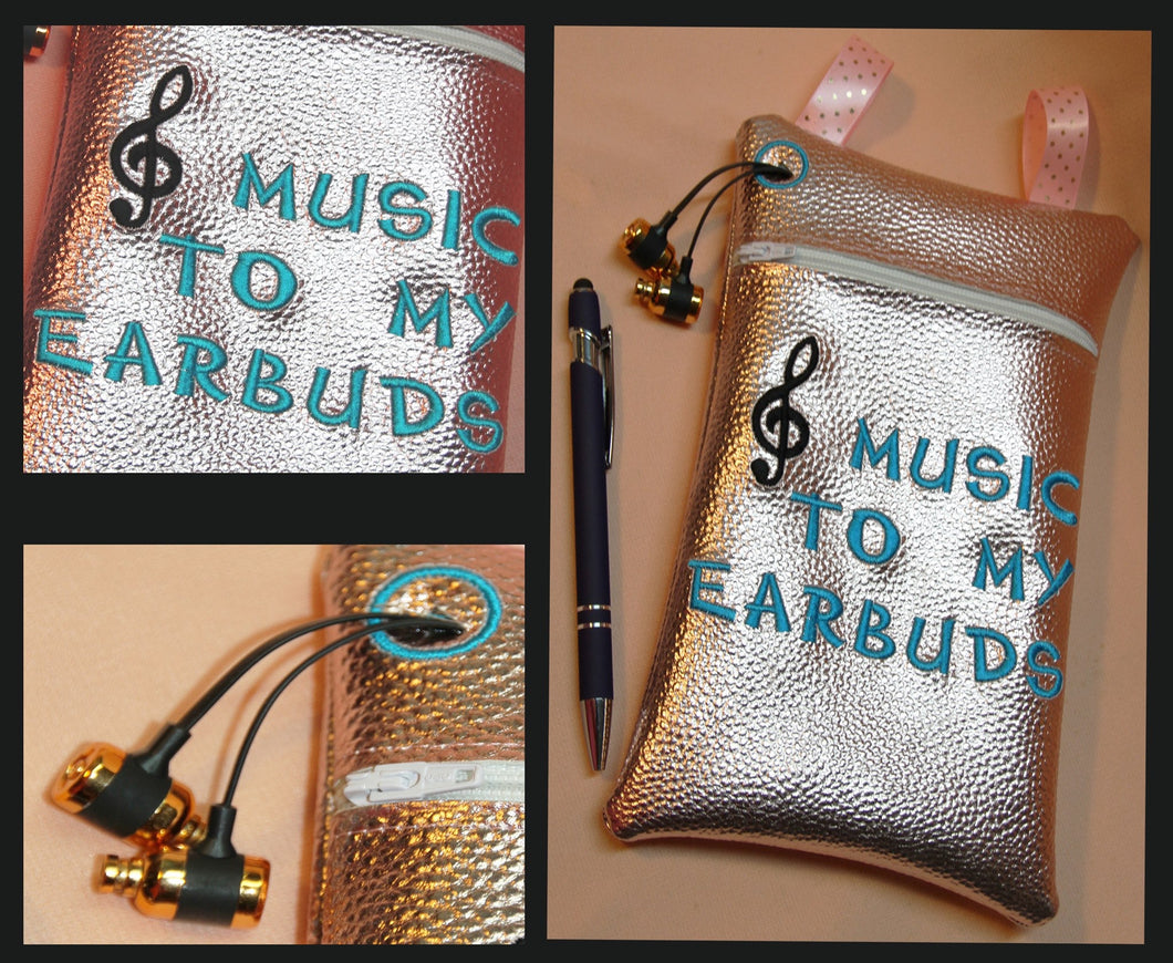 Music to my EarBuds Bag