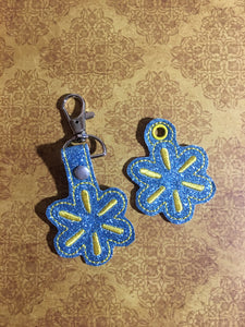 Yellow Star Keyfob