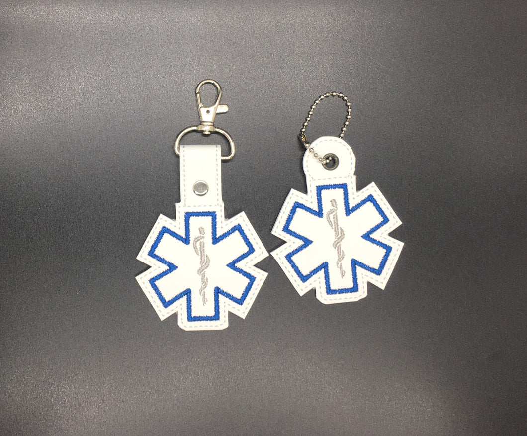 Star of Life Keyfob