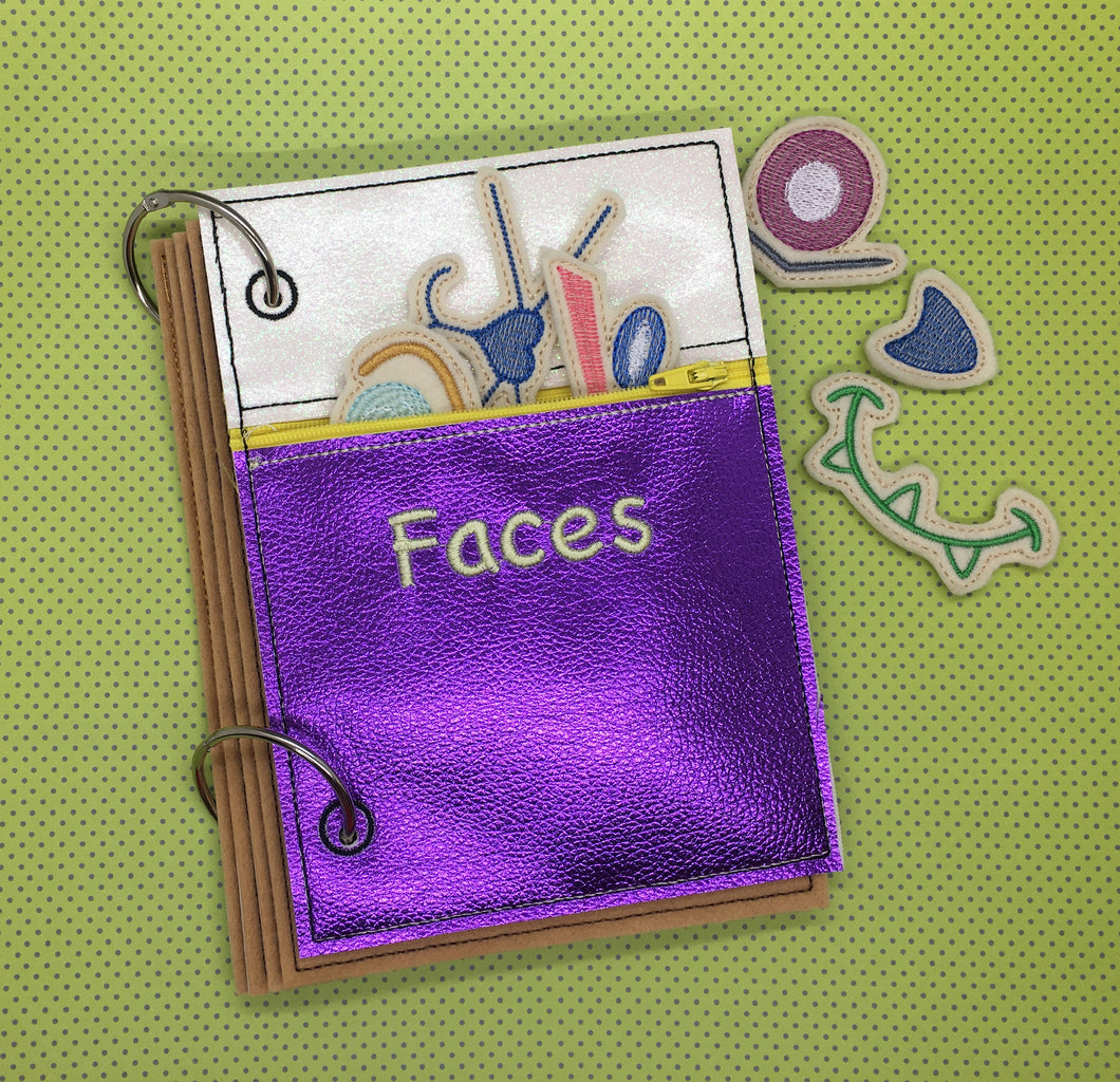 Faces Activity Book