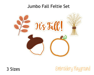 Jumbo Fall Feltie Set