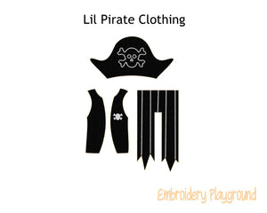 Lil Pirate Outfit