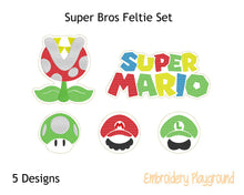 Load image into Gallery viewer, Super Bros Feltie Set