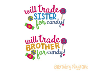 Trade Brother / Sister for Candy Design Set