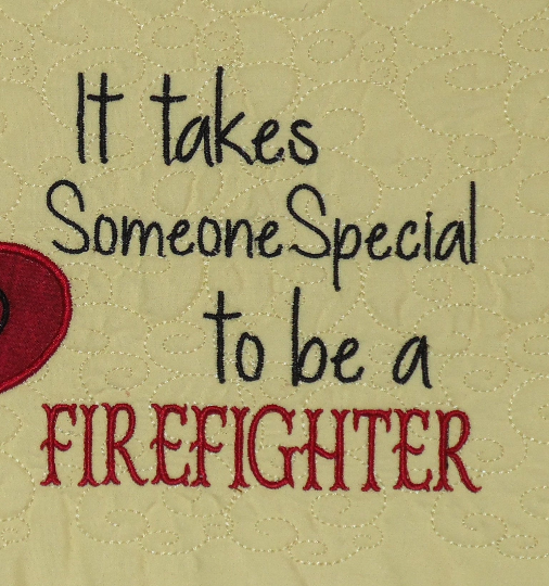 Special Firefighter Saying