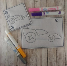 Load image into Gallery viewer, Drag Car Race Car Coloring Page