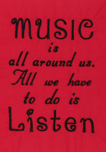Music is all Around Us