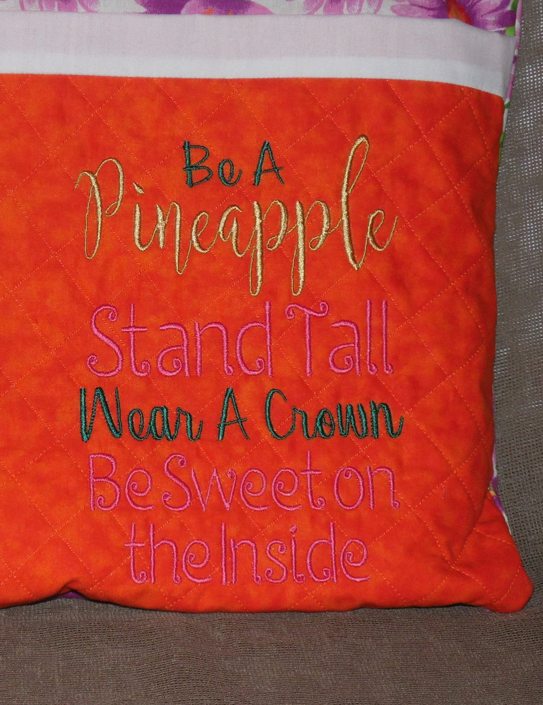 Be A Pineapple Saying