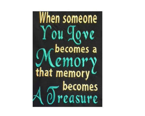 Memory Treasure Wording