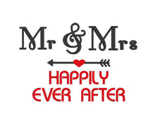 Load image into Gallery viewer, Mr & Mrs Happily Ever After