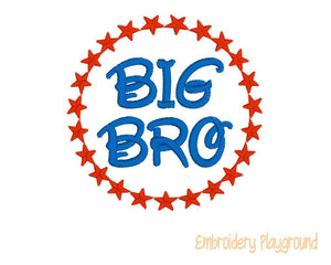 Big Bro Round Star Frame