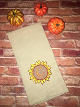 Load image into Gallery viewer, Sunflower Monogram Frame