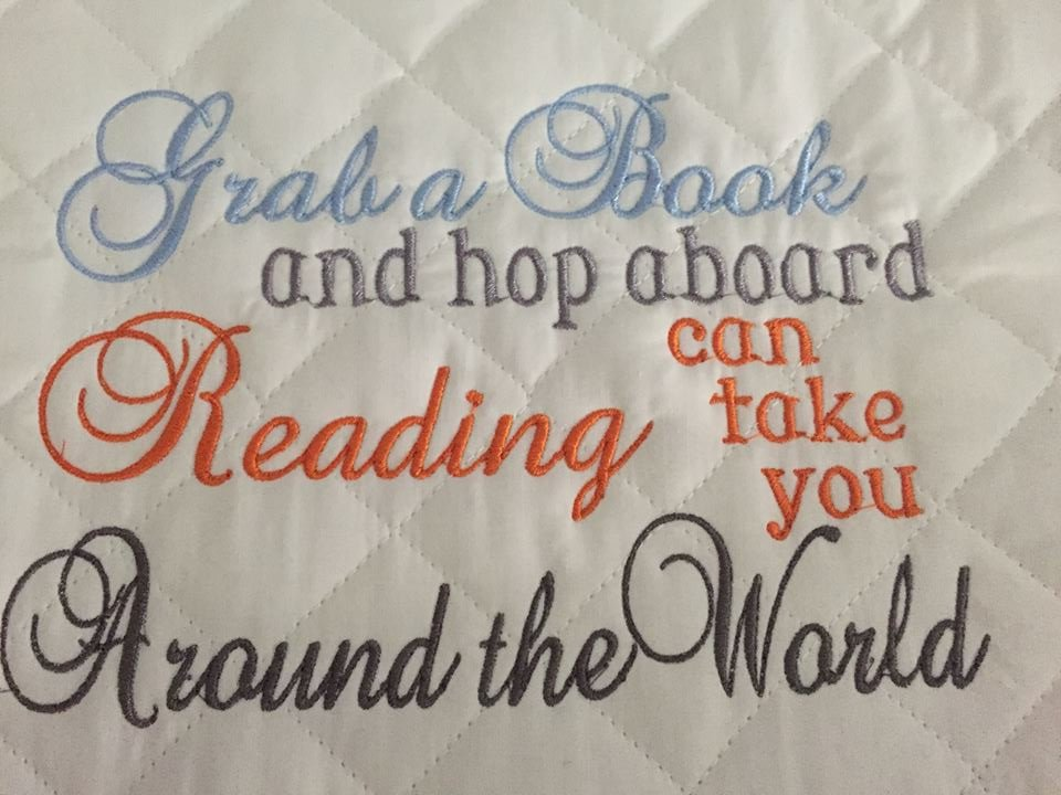 Grab a Book and Hop Aboard