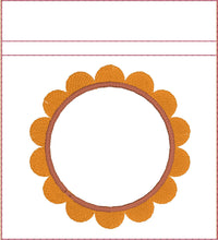 Load image into Gallery viewer, Flower Monogram Frame Planner Band