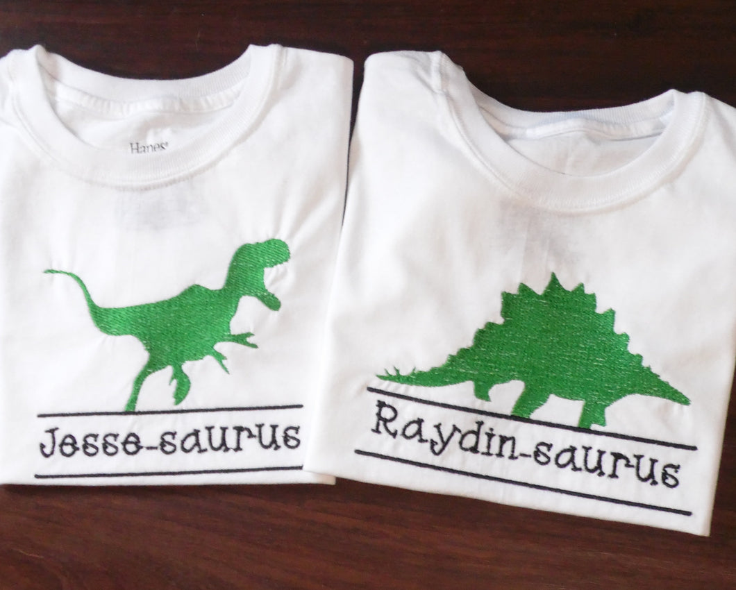Dinosaur Split Name Frame