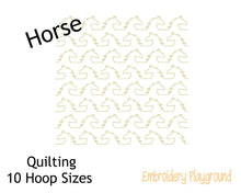 Load image into Gallery viewer, Horse Quilting