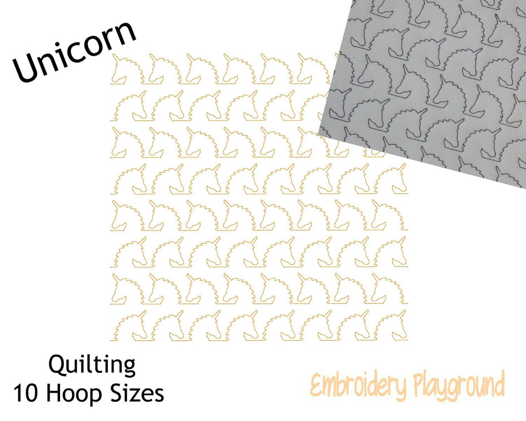 Unicorn Quilting