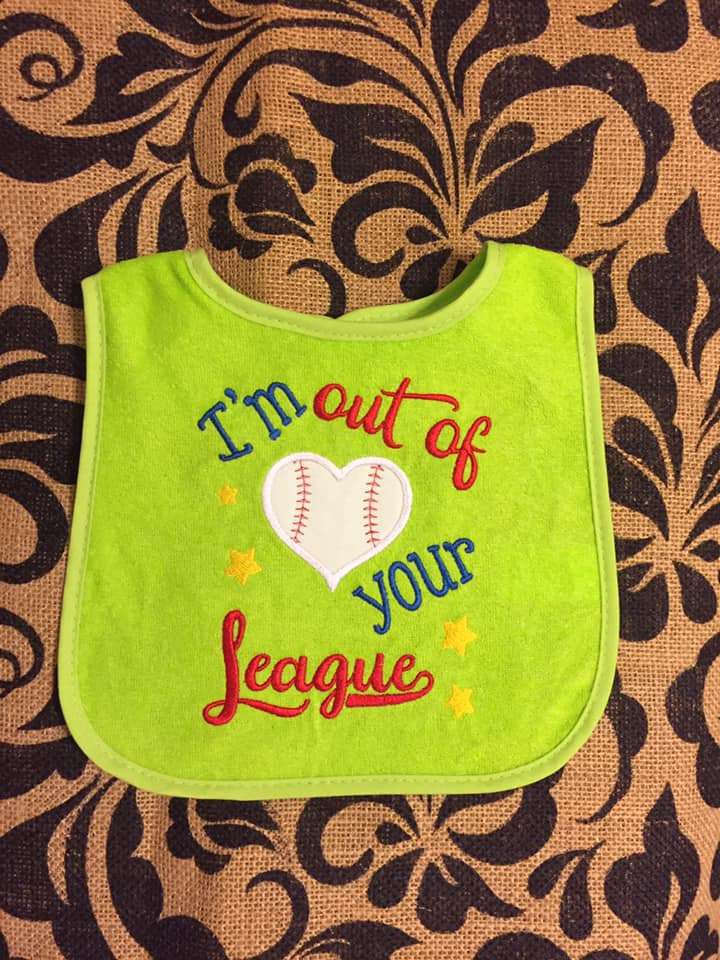 Out of Your League Applique
