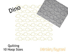 Load image into Gallery viewer, Dino Quilting