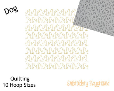 Dog Quilting