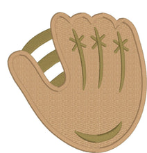 Load image into Gallery viewer, Baseball and Glove Applique Set