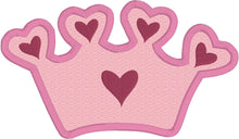 Load image into Gallery viewer, Princess Crown Applique