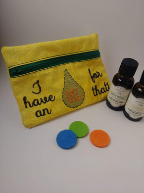 Essential Oil Zip Bag