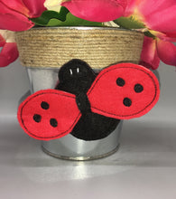 Load image into Gallery viewer, 3D LadyBug Feltie