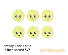 Load image into Gallery viewer, Smiley Face Feltie