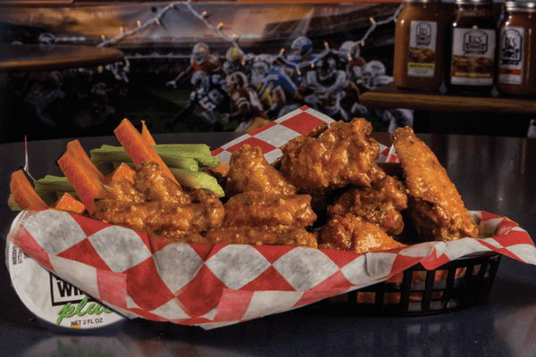 Mr. P's Buffalo Wings | Buy 10 Whole Wings get 3 FREE