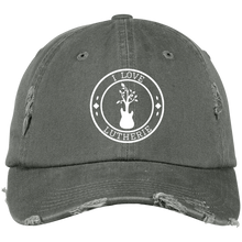 """I Love Lutherie"" Distressed Cap"