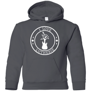 """I Love Lutherie"" Youth Pullover Hoodie"
