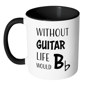 """Life Would Bb"" Accented Mug"