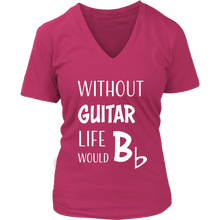 Guitar Humor Womens V-Neck