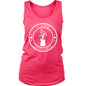 """I Love Lutherie"" Womens Tank"