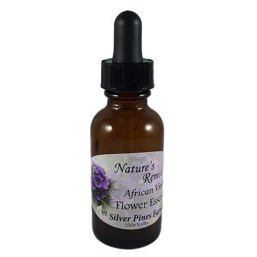 African Violet Flower Essence - Nature's Remedies