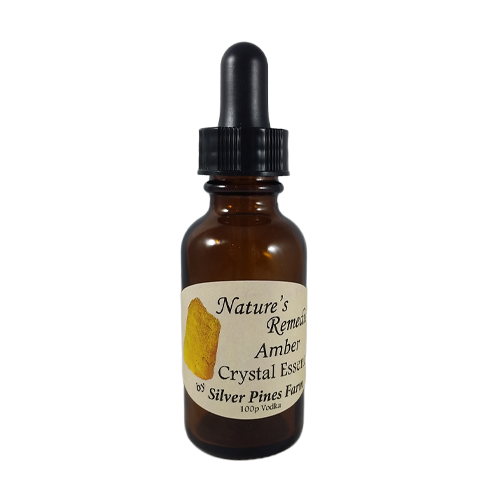 Amber Crystal Essence - Nature's Remedies