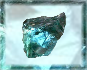 Aqua Blue Obsidian Crystal Essence - Nature's Remedies