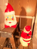 SOLD!!!!  13 inch Santa 1968 empire blow mold blowmold vintage lighted.