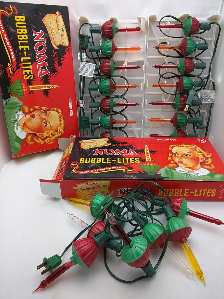Two sets. Noma Bubble Lite Set of 7 Vintage Special Edition ...